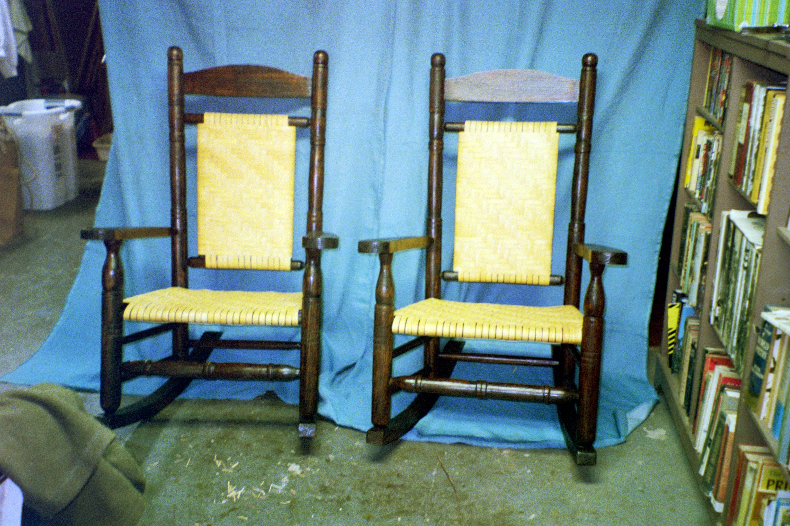 Wingback Chair Makeover - Lovingheartdesigns