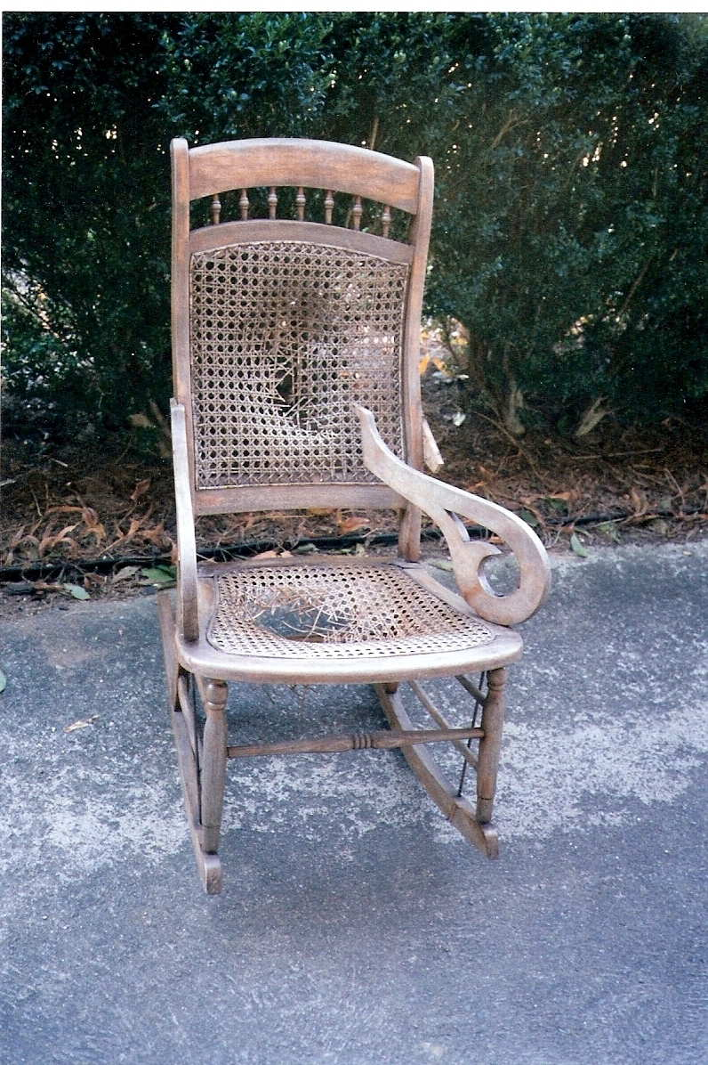 A wonderful chair with ... - Chair Doc Of Boone: Repairing, Caning, Antiques, Rush, Refinishing