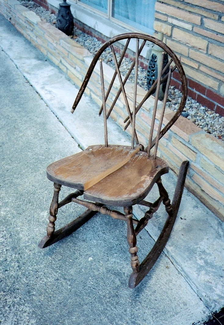 A Wonderful Chair With Broken Seat